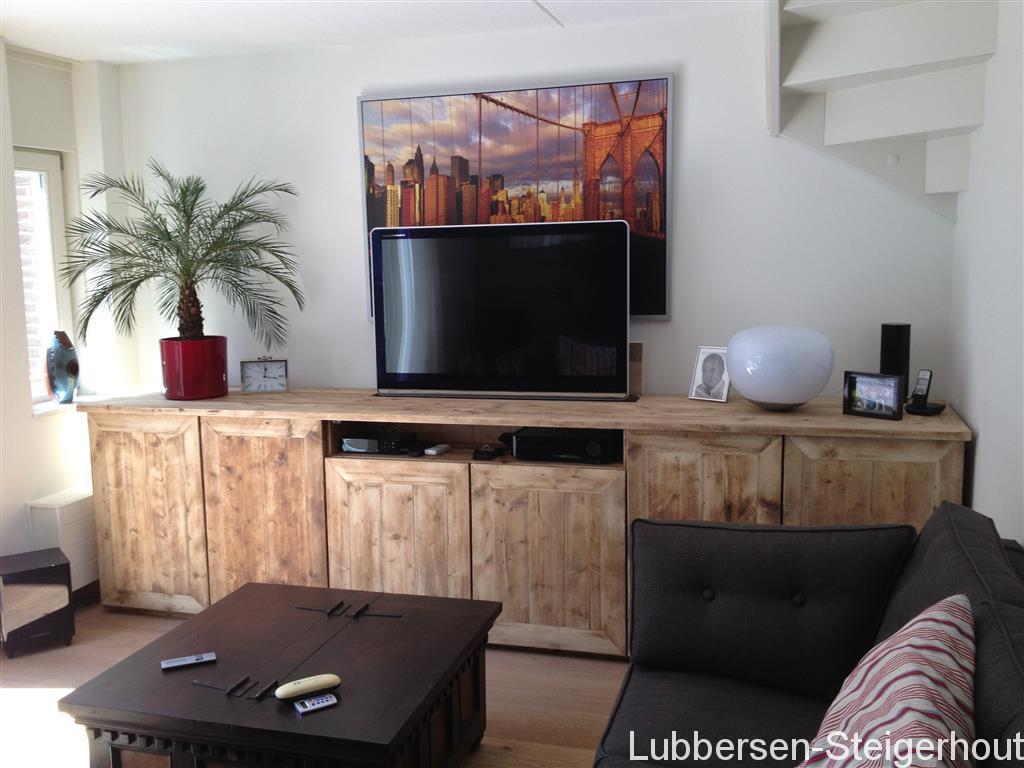 Tv Lift Meubel Prijs.Dressoirs Lubbersen Steigerhout